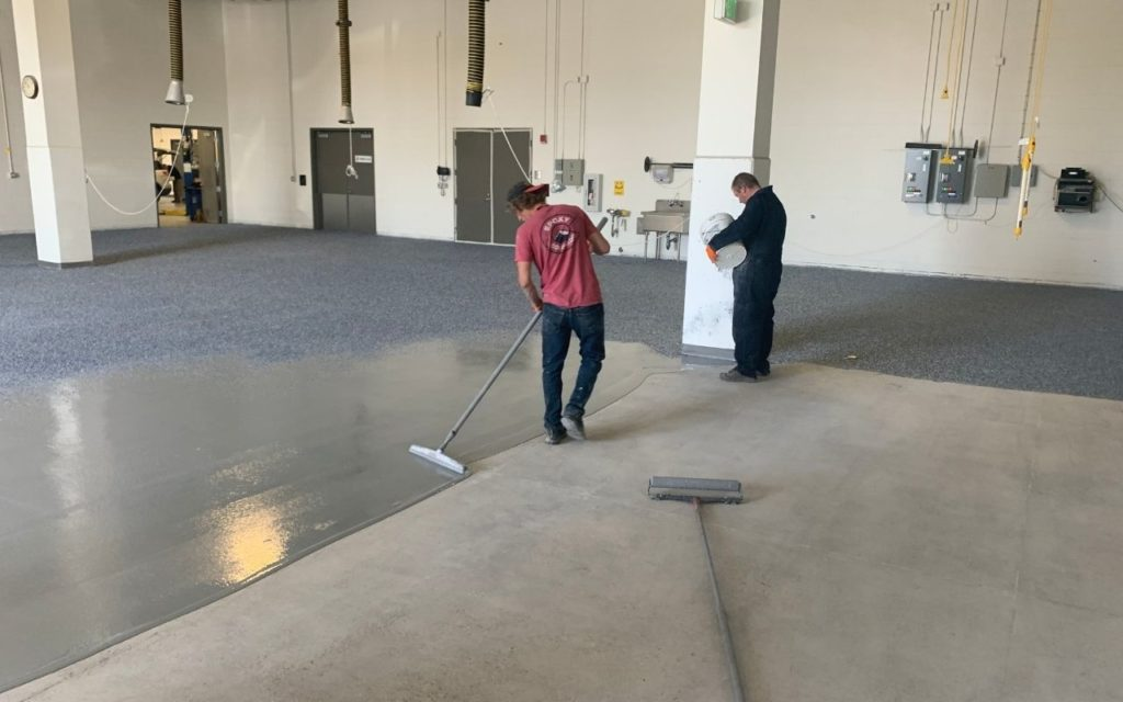 commercial epoxy installation